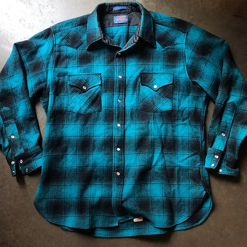 Pendleton High Grade Western Wear Flannel Shirt Sz XL