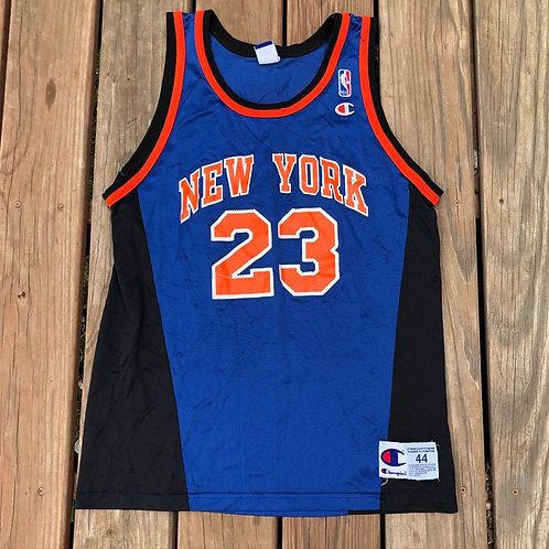 Vintage Champion New York Knicks Marcus Camby Jersey Sz 44 (L)