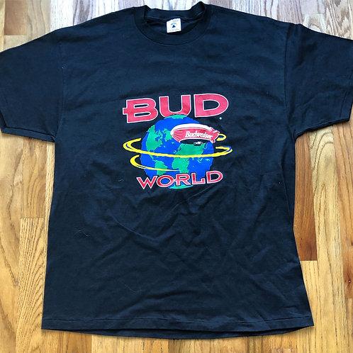 Vintage Delta Bud World Single Stitch T Shirt Tee Sz XL