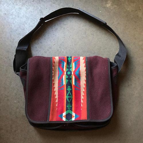 Vintage Pendleton Western Wear Aztec Shoulder Messenger Bag