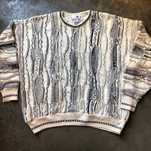 Vintage Florence Tricot Coogi Like Textured Sweater Sz 2XL