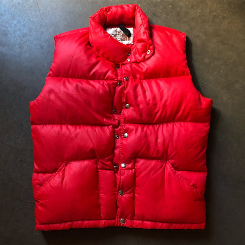 Vintage North Face Brown Label Down Puffer Vest Sz S