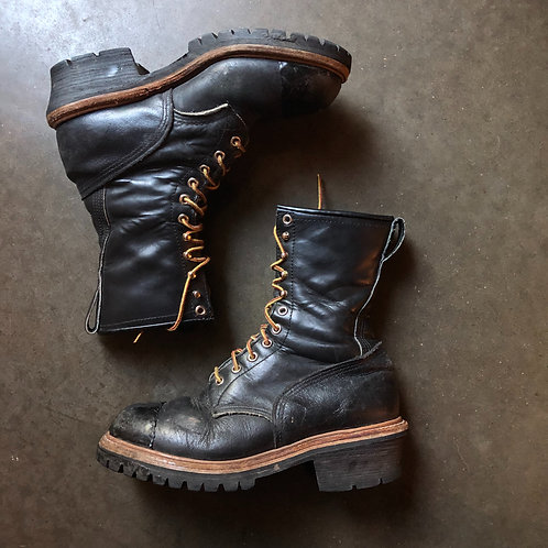 Vintage Red Wing 699 Steel Toe Leather Boots Sz 8