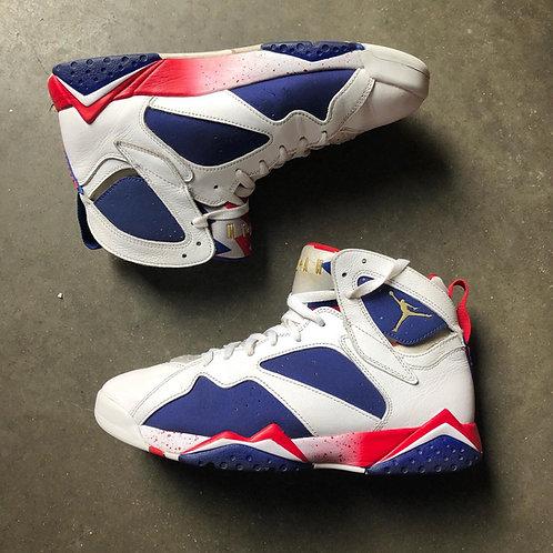 Nike Air Jordan 7 VII Retro Olympic Tinder Sz 10