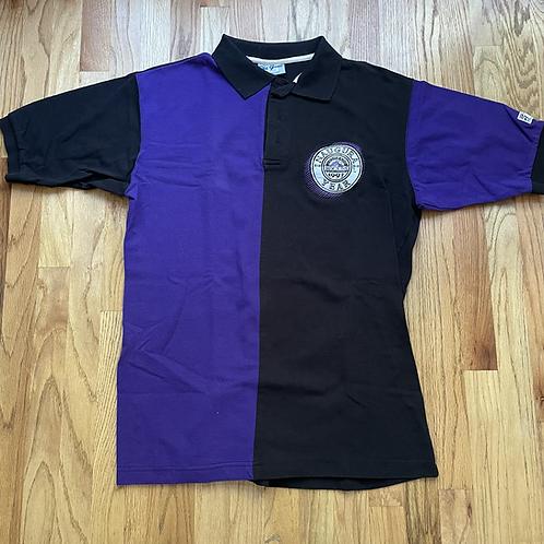 Vintage The Game Colorado Rockies Inaugural Season Polo Shirt Sz L/XL