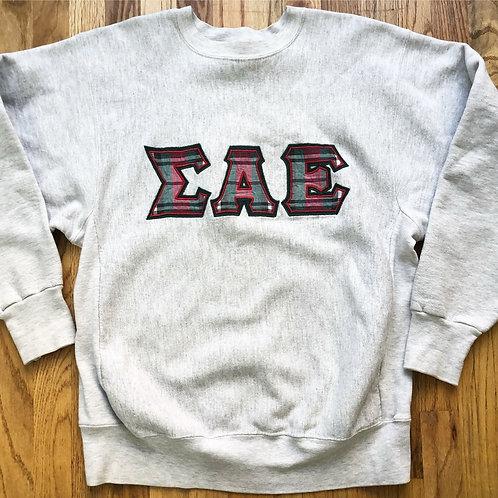 Vintage Rugged Sweats SAE Crewneck Sweatshirt Sz XL