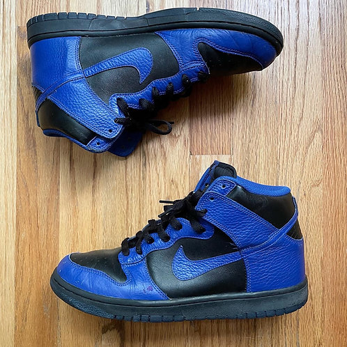 2011 Nike Dunk High Old Royal Blue Kentucky Sz 10