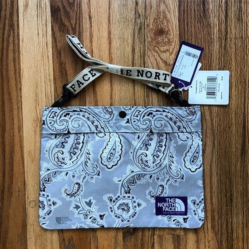 NWT The North Face Purple Label Paisley Shield Shoulder Bag