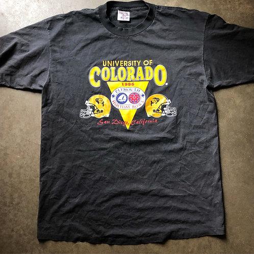Vintage 1996 Holiday Bowl Colorado Buffaloes T Shirt Tee Sz XL