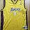 Thumbnail: Champion Los Angeles LA Lakers Kobe Bryant Jersey Sz Youth XL