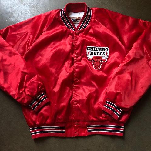 Vintage Chalk Line Chicago Bulls Satin Jacket Sz L/XL
