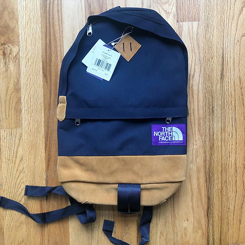 NWT The North Face Purple Label Urban Navy Suede Medium Day Backpack