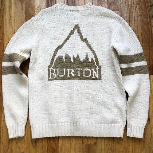 Burton Mountain Crewneck Knit Sweater Sz S