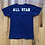 Thumbnail: Vintage Champion Blue Bar Adams State College All Star T Shirt Tee Sz S/XS