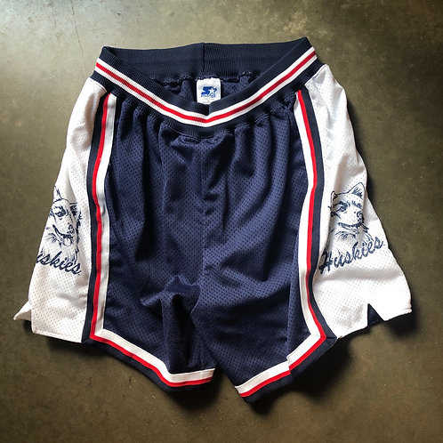 Vintage Starter UCONN Huskies Authentic Shorts Sz XL
