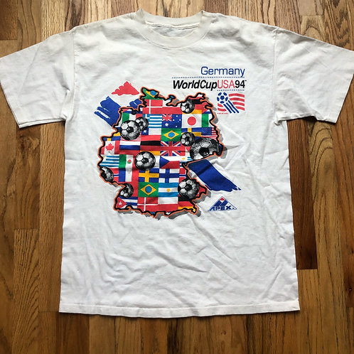 Vintage Apex One 1994 World Cup Team USA T Shirt Tee Sz L