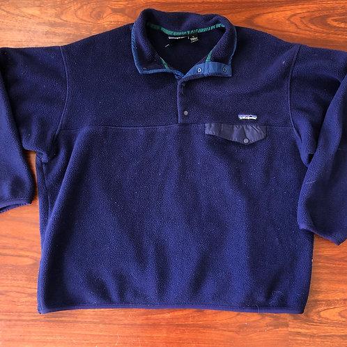 Vintage Patagonia Snap T Fleece Pullover Sz XL
