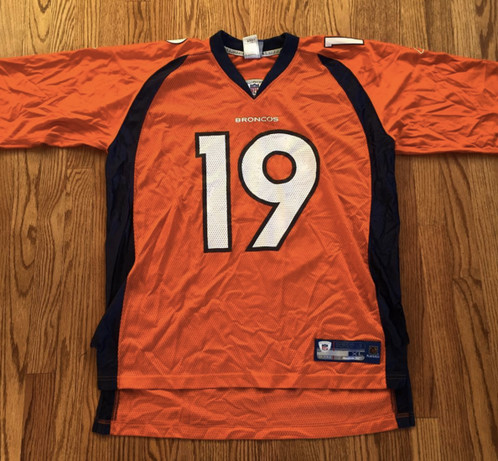 huge discount 791f0 e28d8 jerry rice denver broncos jersey