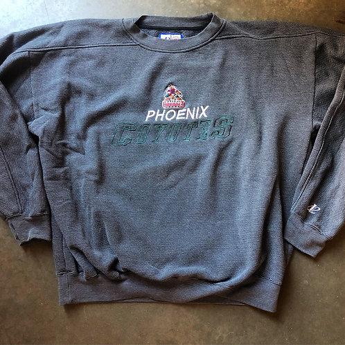 Vintage Logo Athletic Phoenix Coyotes Crewneck Sweatshirt Sz XL