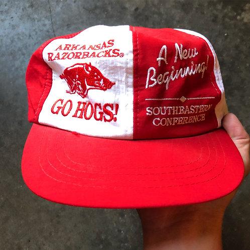 Vintage Arkansas Razorbacks SEC Conference SnapBack Hat