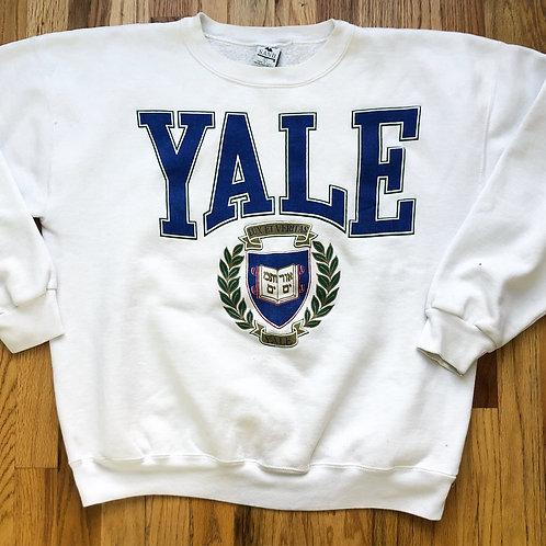 Vintage Galt Sand Yale Bulldogs Crewneck Sweatshirt Sz L
