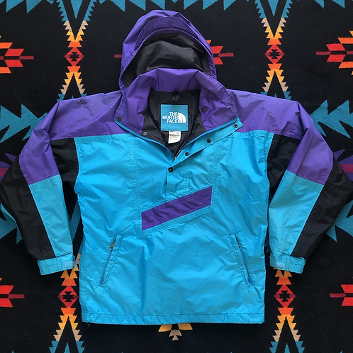 Vintage North Face Gore Tex Color Block Windbreaker Jacket Sz XS