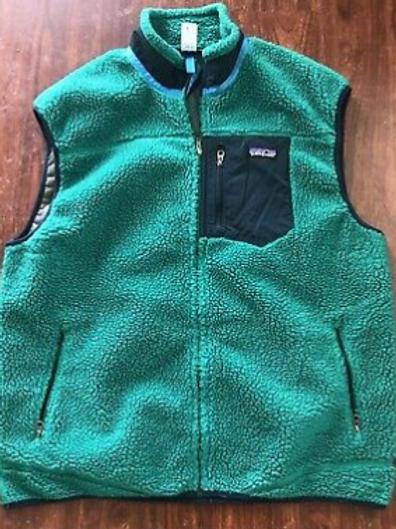 Patagonia ClassicRetro X Deep Pile Fleece Vest Sz 2XL