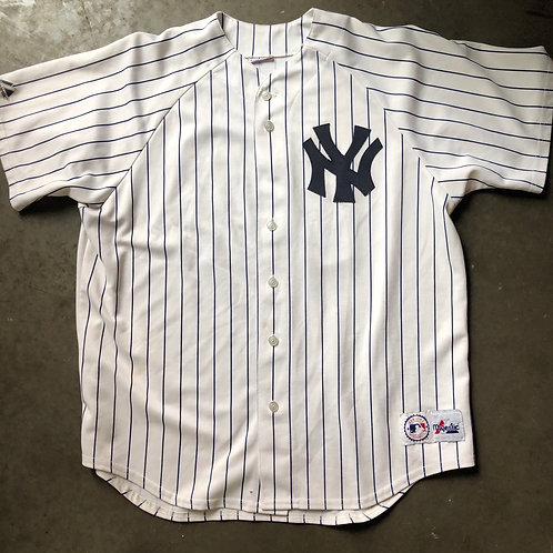 Majestic New York Yankees Jason Giambi Jersey Sz XL