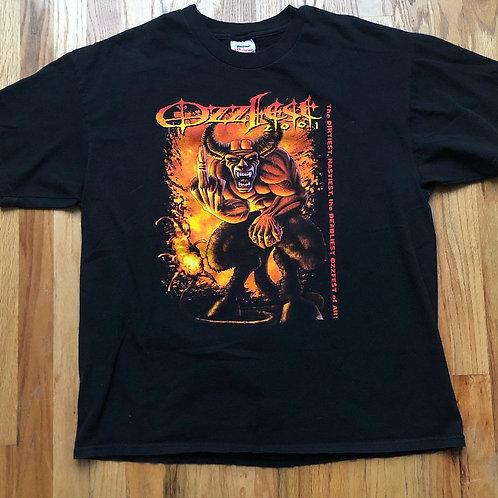 Stedman 2001 Ozzfest T Shirt Tee Sz XL