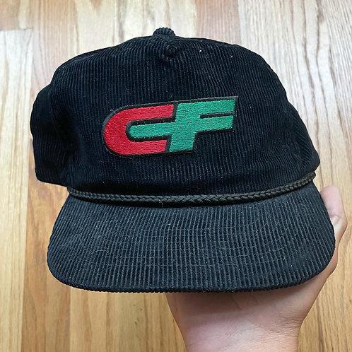 Vintage Consolidated FreightWays Corduroy Trucker Snapback Hat