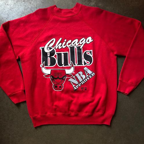 Vintage Tultex Chicago Bulls Crewneck Sweatshirt Sz L