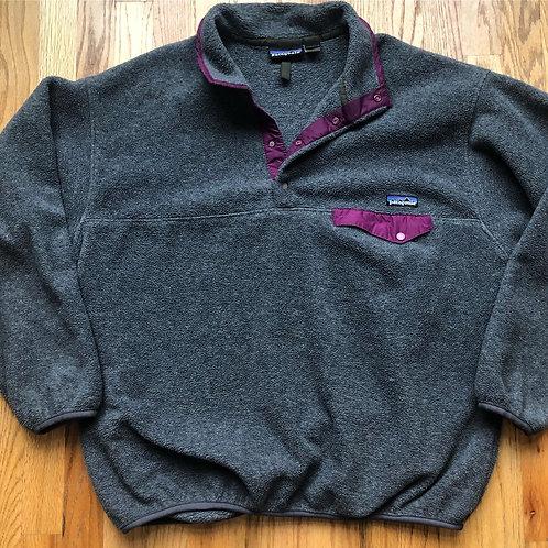 Patagonia Synchilla Fleece Snap T Pullover Sz XL