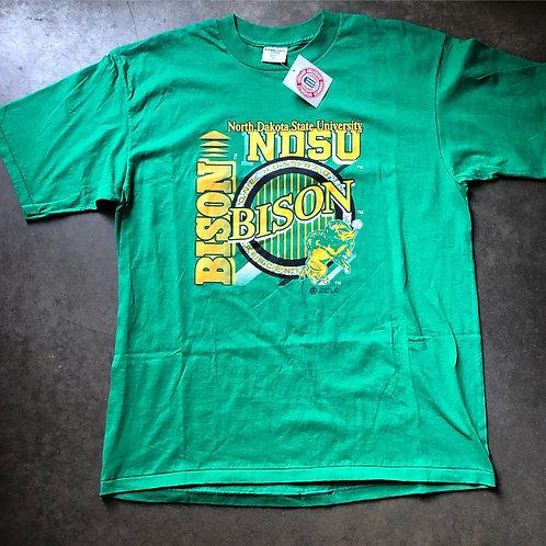 NWT North Dakota State NDSU Bison T Shirt Tee Sz XL