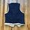 Thumbnail: Vintage Levi's USA Sample Sherpa Lined Denim Jean Jacket Vest Sz M