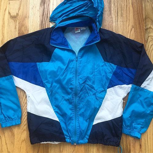 Vintage Nike Gray Tag Windbreaker Jacket Sz S