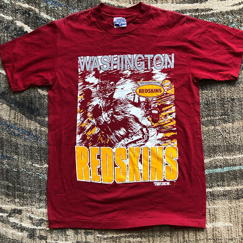 Vintage Trench Washington Redskins T Shirt Tee Sz M