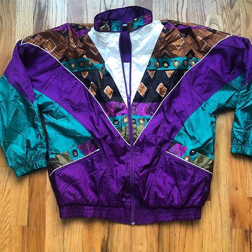 Vintage Bolo Sport Windbreaker Jacket Sz S/M