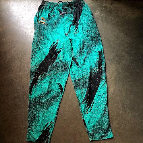Vintage Zubaz Denver Grizzlies Pants Sz M
