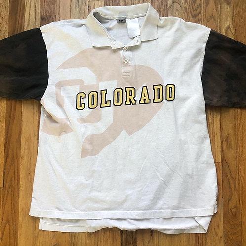 Vintage Nike Colorado Buffaloes Cotton Bowl Polo Sz XL/2XL
