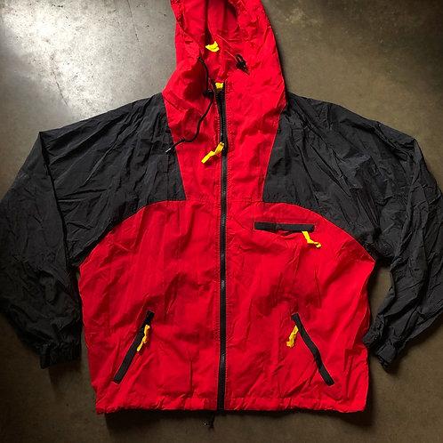Vintage Marlboro Adventure Team Windbreaker Jacket Sz L