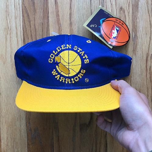 NWT Vintage G Cap Golden State Warriors Snapback Hat