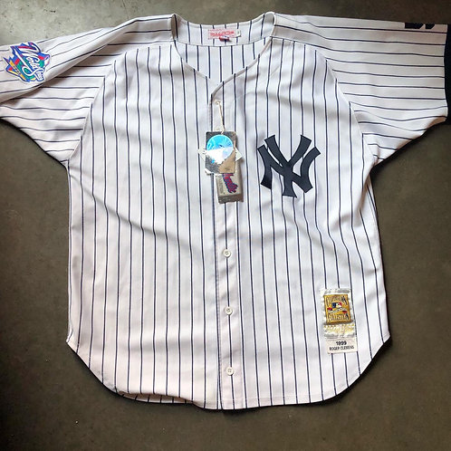 NWT Mitchell & Ness New York Yankees Roger Clemens 1999 World Series Jersey Sz 5