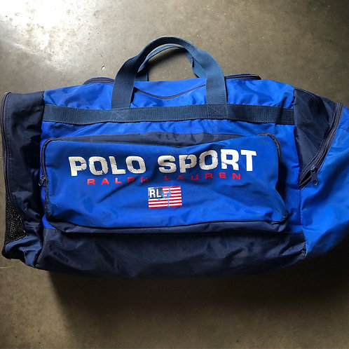 Vintage Polo Sport Ralph Lauren Gym Duffle Bag