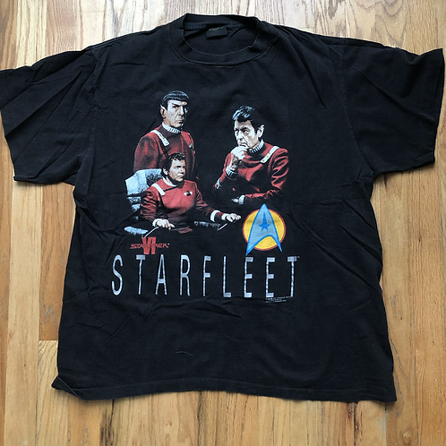 Vintage Changes Star Trek VI Starfleet T Shirt Tee Sz XL