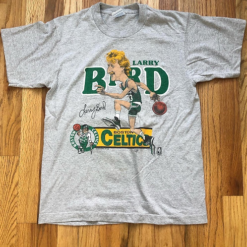 Vintage Salem Boston Celtics Larry Bird T Shirt Tee Sz S/M