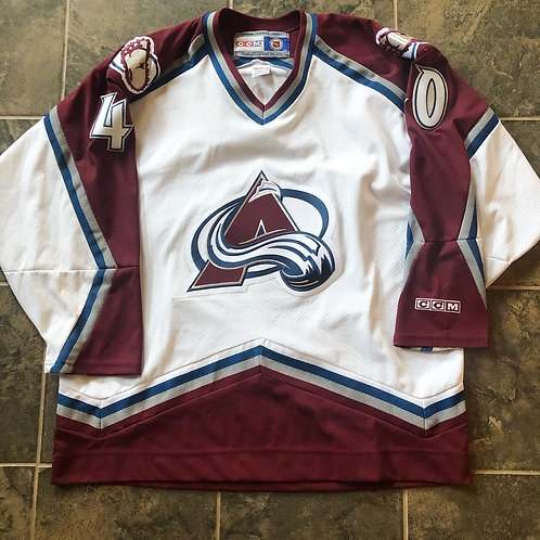 CCM Colorado Avalanche Alex Tanguay Jersey Sz XL