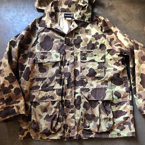 Vintage Browning Gore Tex Camo Hunting Jacket Sz XL