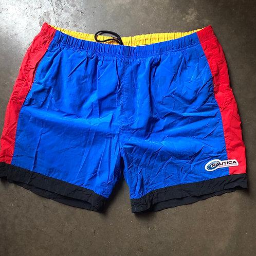 Vintage Nautica Wakeboarding Swim Shorts Sz XL