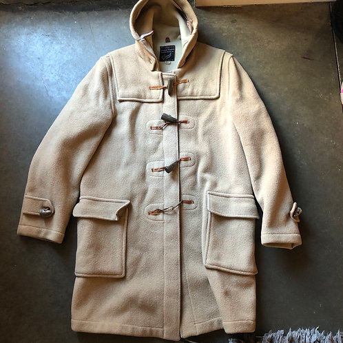 Vintage 70's Original English Duffle Coat By Gloverall Jacket Sz 42