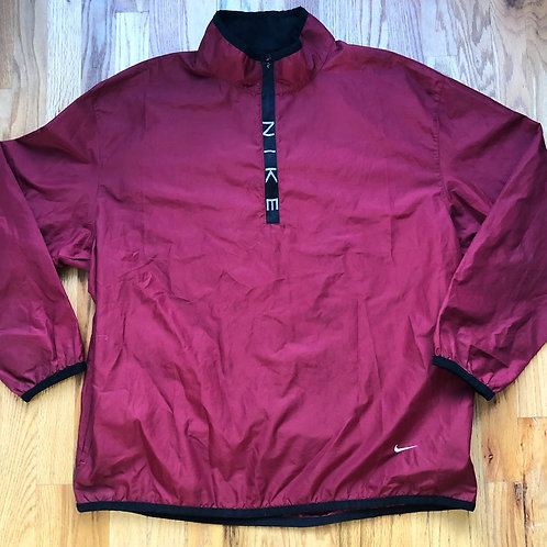 Vintage Nike 1/4 Zip Windbreaker Jacket Sz XL